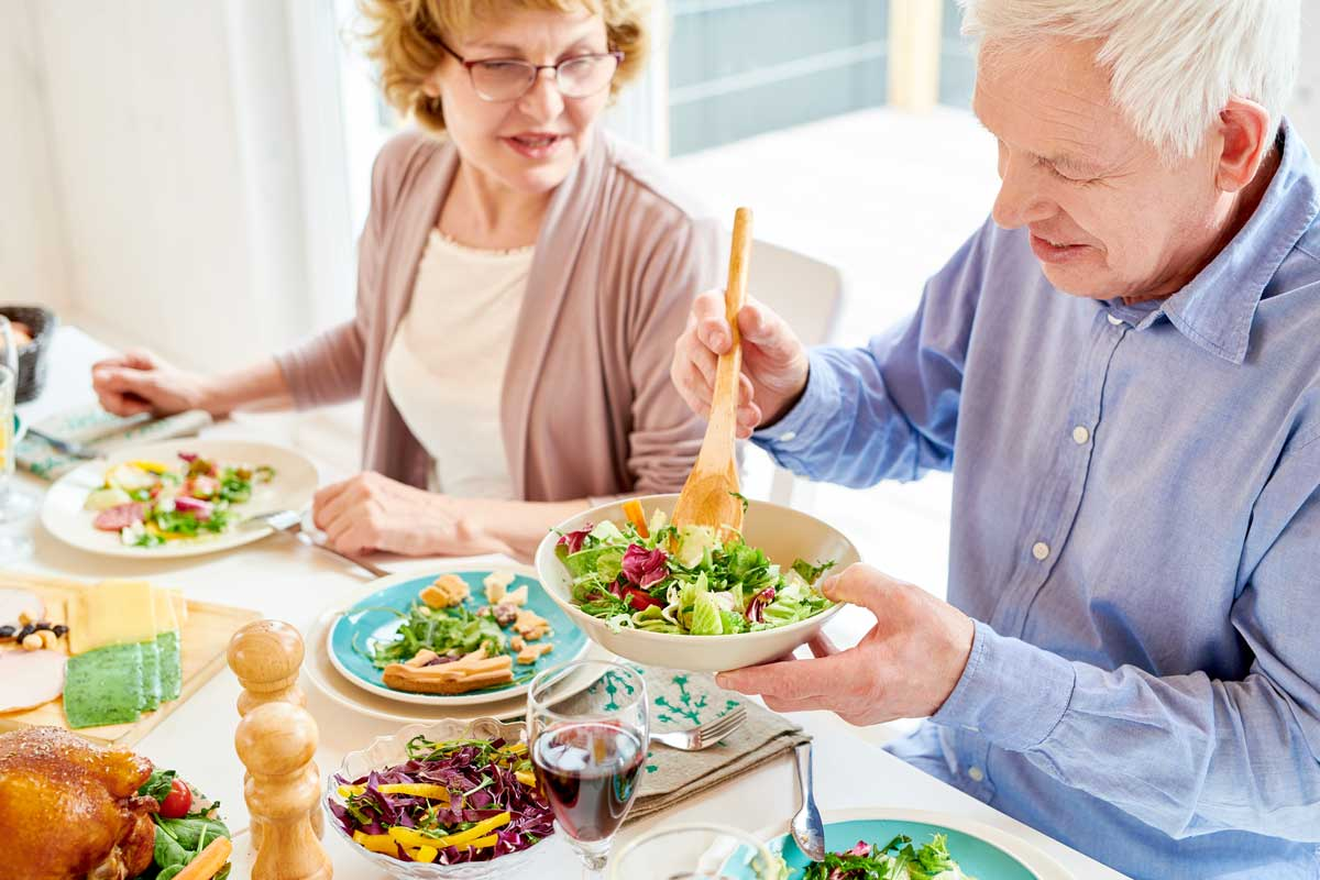 Prepared meals for seniors