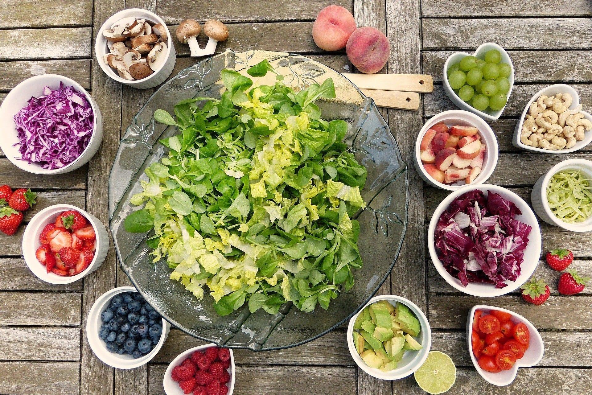 salad, good eating habits