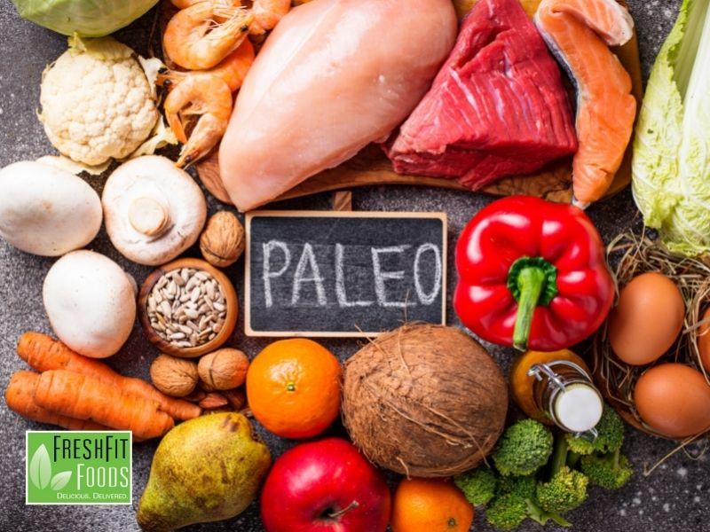 Vegan and paleo diets